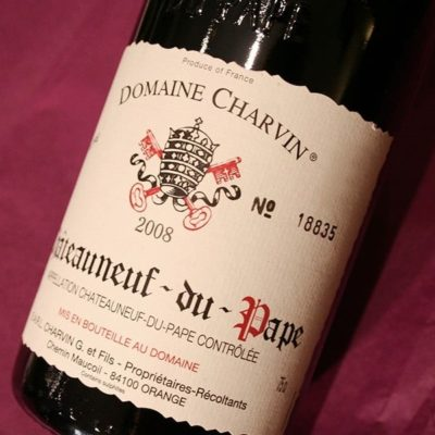 DOMAINE CHARVIN 2012