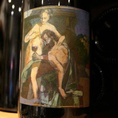 vin rouge cote rotie GANGLOFF la sereine noire millesime 2012
