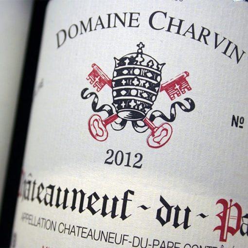 DOMAINE CHARVIN 2012