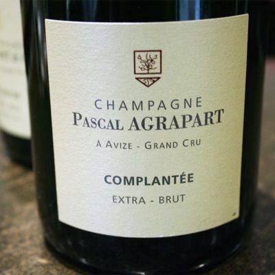 champagne pascal agrapart complantee