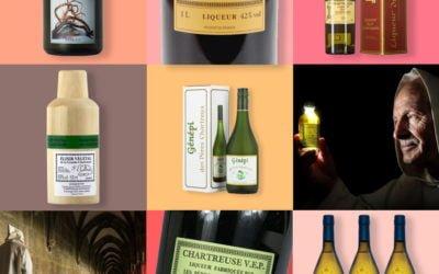 Les liqueurs des Pères Chartreux