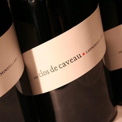 CLOS DE CAVEAU, CARMIN BRILLANT 2012