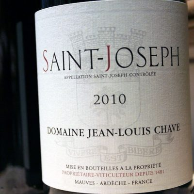 JEAN-LOUIS CHAVE, SAINT-JOSEPH 2012