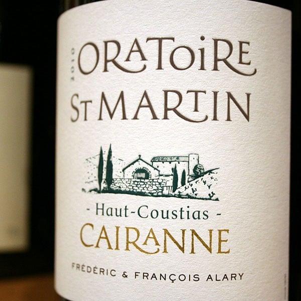 L'ORATOIRE SAINT-MARTIN HAUT-COUSTIAS 2012