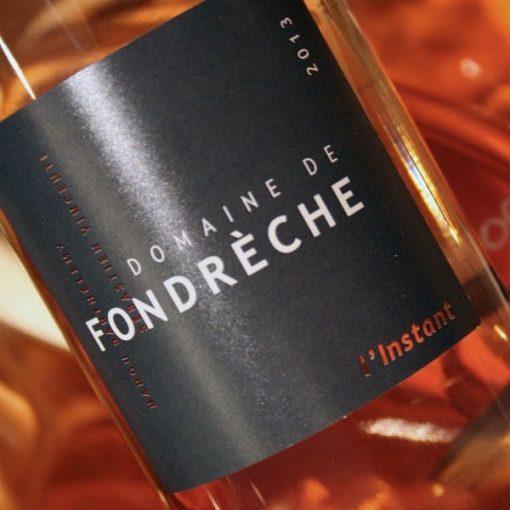DOMAINE DE FONDRECHE, 2015