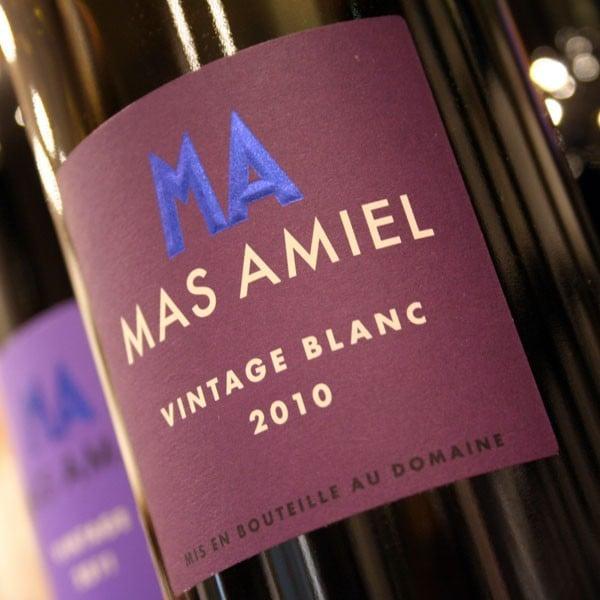 MAS AMIEL, VINTAGE BLANC 2010