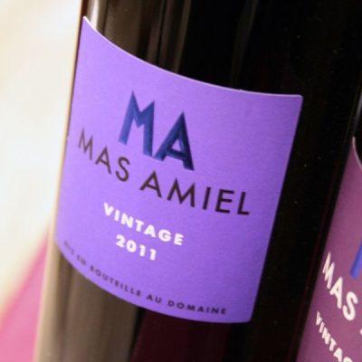 MAS AMIEL, VINTAGE ROUGE 2012