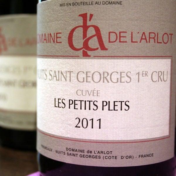DOMAINE DE L'ARLOT, LES PETITS PLETS 2012