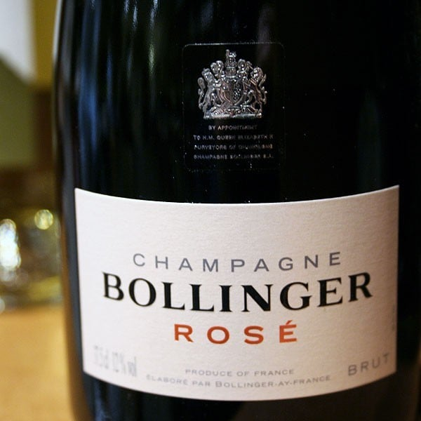 BOLLINGER, BRUT ROSE