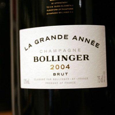 BOLLINGER, LA GRANDE ANNEE 2005