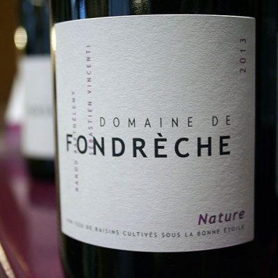 DOMAINE DE FONDRECHE, NATURE 2013