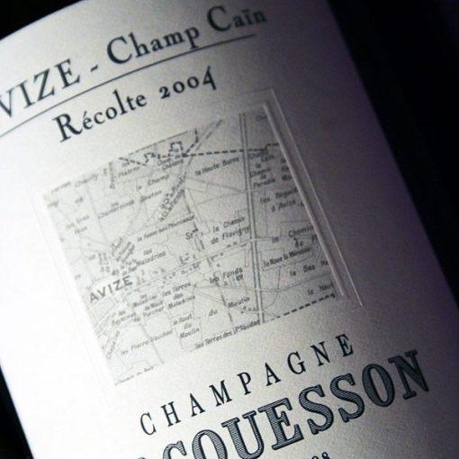 JACQUESSON, CHAMP-CAIN 2004