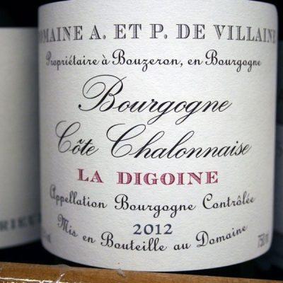DOMAINE A. et P. DE VILLAINE, LA DIGOINE 2013