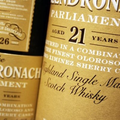 THE GLENDRONACH, PARLIAMENT 21 YEARS