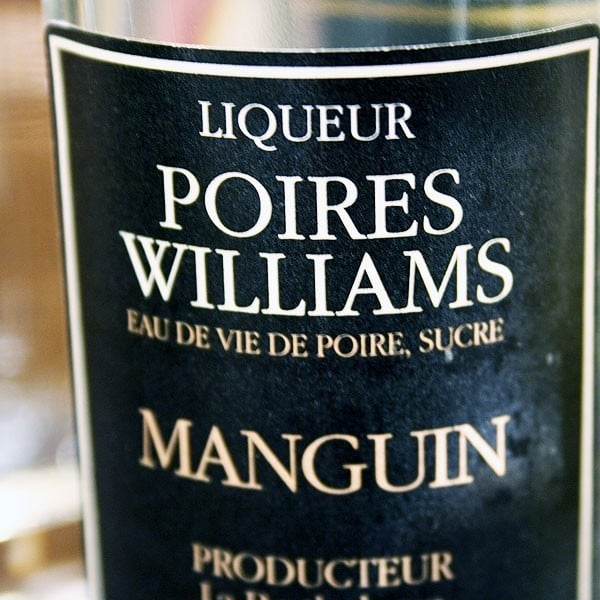 MANGUIN, POIRES WILLIAMS 20 cl