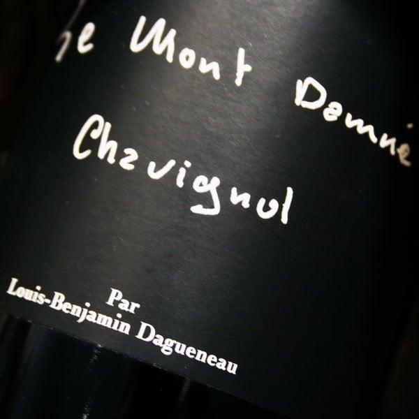 DOMAINE DAGUENEAU, LE MONT DAMNÉ 2013