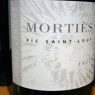 DOMAINE DE MORTIES, PIC SAINT-LOUP, JAMAIS CONTENT 2011