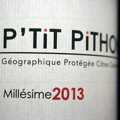 OLIVIER PITHON, MON P'TIT PITHON 2013
