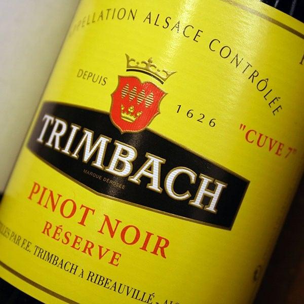 TRIMBACH, PINOT NOIR 2012 RESERVE