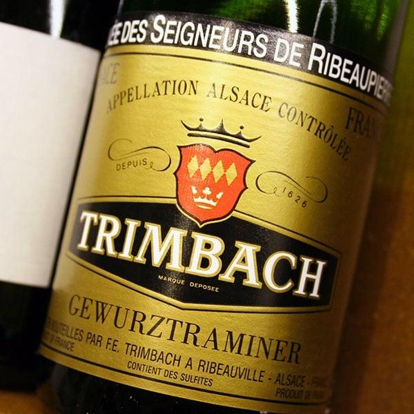 TRIMBACH, CUVÉE DES SEIGNEURS DE RIBEAUPIERRE 2007