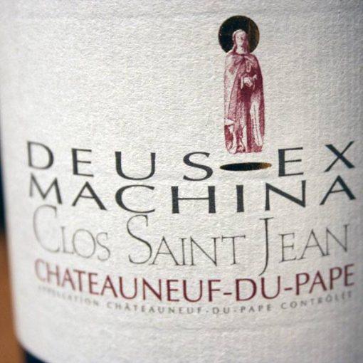 CLOS SAINT-JEAN, DEUS EX MACHINA 2012