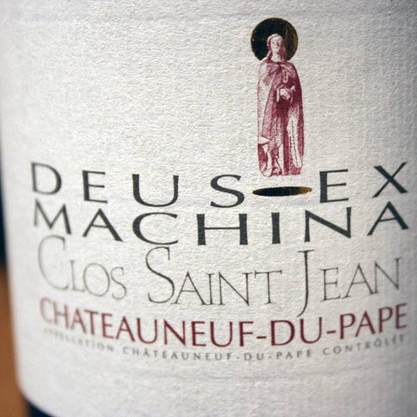 CLOS SAINT-JEAN, DEUS EX MACHINA 2012