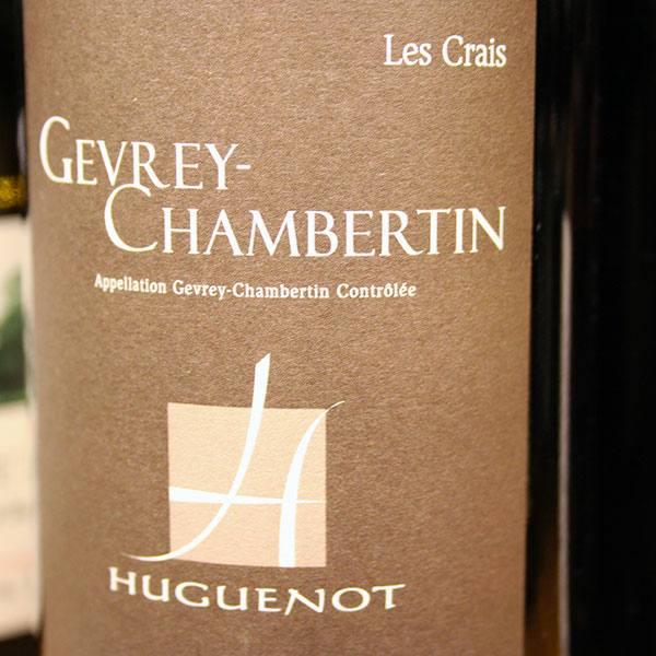 HUGUENOT, GEVREY-CHAMBERTIN LES CRAIS 2011