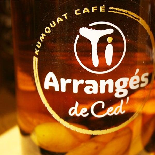 TI ARRANGÉS DE CED, KUMQUAT-CAFÉ