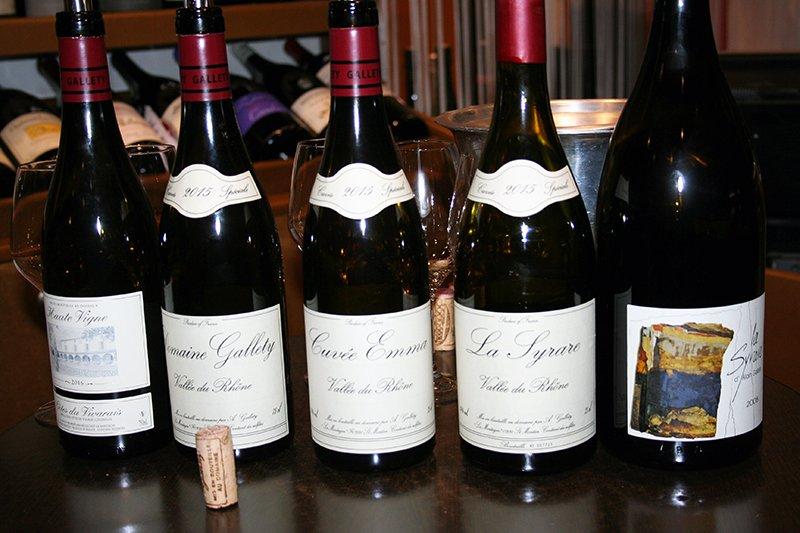 Dégustation de Vin Domaine Gallety cuvée Emma, La Syrare, Haute vigne