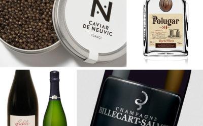 Caviar de Neuvic, champagne et vodka
