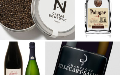 Caviar de Neuvic, champagnes et vodka