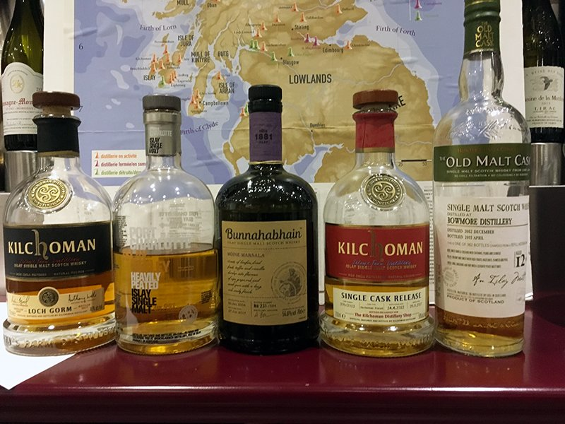 Immersion sur l'Île d'Islay en Écosse