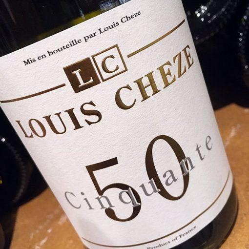 louis cheze 50 50 viognier chardonnay
