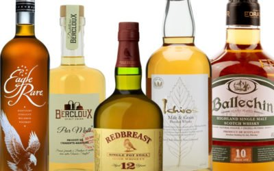 Cinq whiskies, cinq destinations