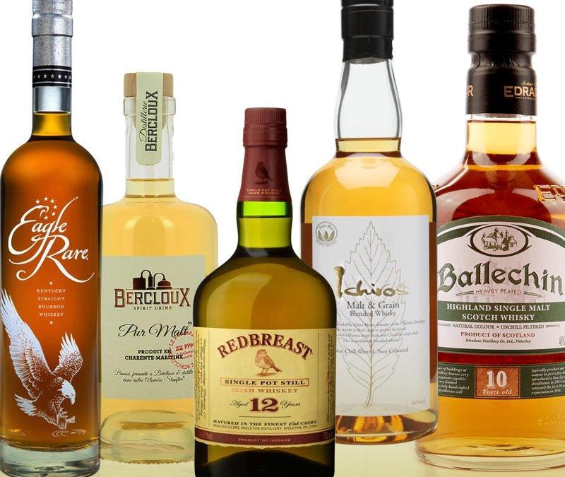 5 whiskies / 5 destinations